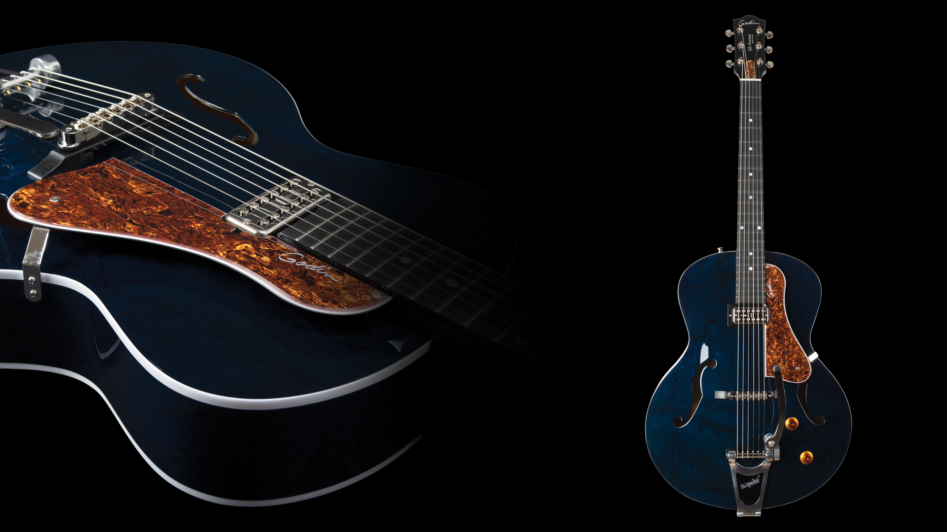 Godin Guitars | Canadian Electric, Acoustic & Bass Guitars, Amps